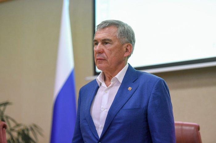 Рустам Минниханов. (Фото: president.tatarstan.ru).
