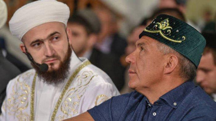 Минниханов и Самигуллин на одном из мероприятий ранее. (Фото: ДУМ РТ).