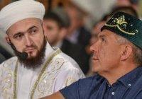 Минниханов осмотрел здание медресе «Мухаммадия» после реставрации