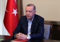Эрдоган: Турция поддерживает Палестину, как поддерживала Азербайджан в Карабахе