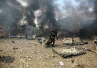 Израиль разбомбил здание Красного Полумесяца в Газе, есть жертвы