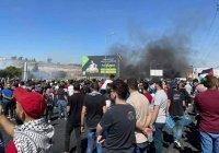 На палестинских территориях проходят многотысячные митинги