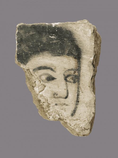 Фрагментарная роспись стен, Ирак, середина 800-х гг. Из коллекции Британского музея
