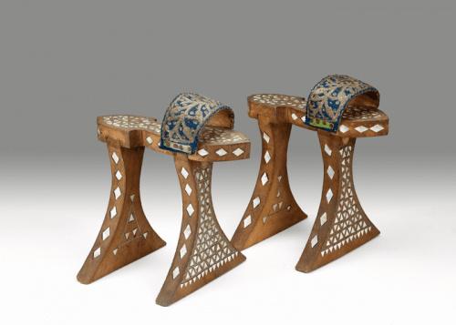 Банные сабо, Турция или Сирия, 1800-1900 гг. Из коллекции Британского музея