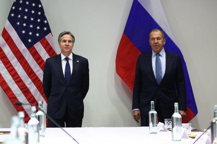 Глава МИД РФ Сергей Лавров и госсекретарь США Энтони Блинкен. (Фото: © МИД России).