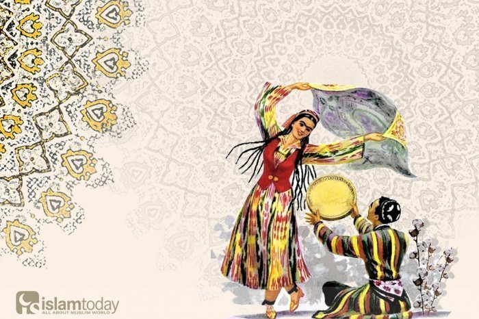 Узбекская вышивка как элемент народной культуры (Источник фото: loyd.su).