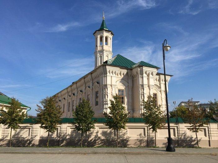 Апанаевская мечеть (Источник фото: m.2gis.ru).