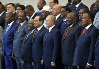Путин поздравил лидеров африканских стран с Днём Африки