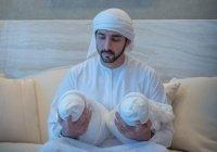 Наследный принц Дубая впервые показал своих детей