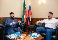 Муфтий Татарстана встретился с президентом АПМ РФ