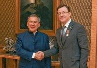 Минниханова наградили за вклад в укрепление межконфессиональных отношений