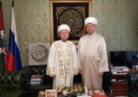Советник муфтия РТ встретился с главой ДСМР Альбиром Кргановым