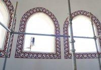 Специалисты возобновили роспись Соборной мечети Крыма после перерыва из-за пандемии