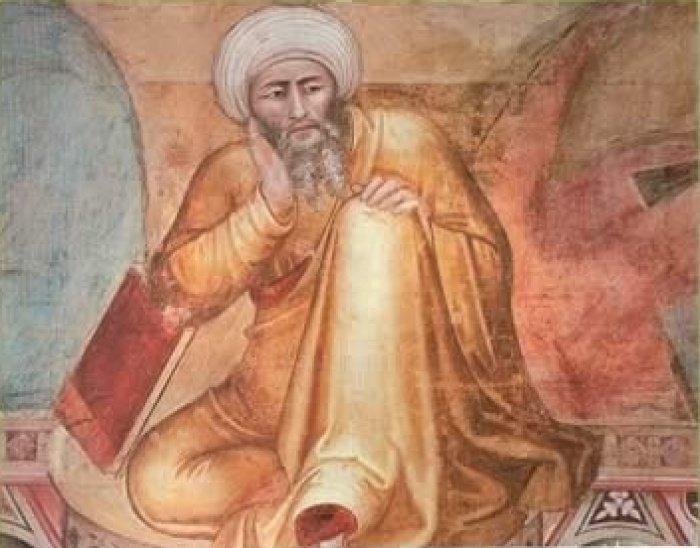 Ибн Рушд в представлении европейцев.