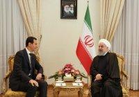 Роухани поздравил Асада с победой на выборах президента Сирии
