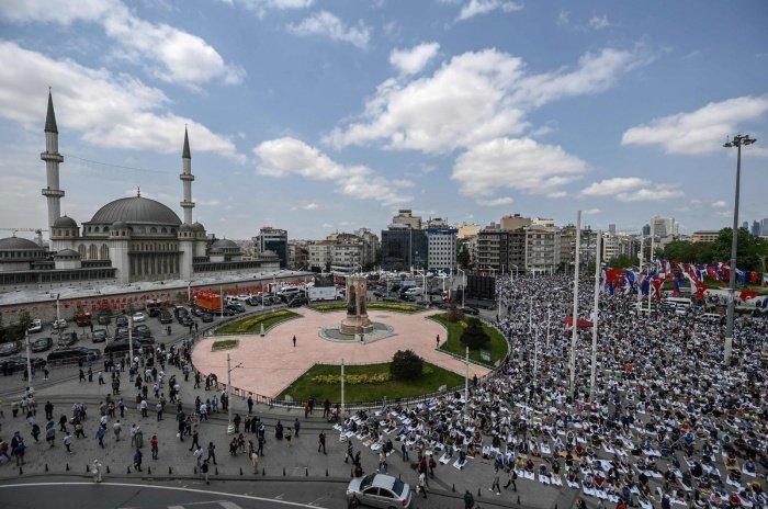 Мечеть Таксим. (Фото: dailysabah.com).