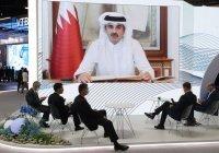 В Кремле анонсировали визит эмира Катара в Россию