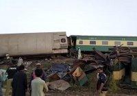 До 50 возросло число погибших при столкновении поездов в Пакистане