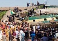 До 62 возросло число жертв столкновения поездов в Пакистане