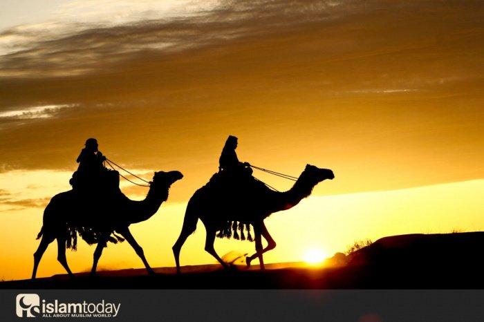 Первые мусульмане, последовавшие за Пророком ﷺ (Источник фото: pinterest.ru)