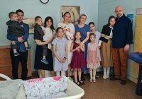 39-летняя россиянка родила одиннадцатого ребенка