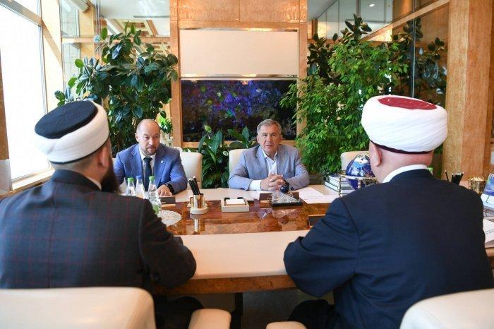 Минниханов и Крганов обсудили подготовку к 1100-летию принятия ислама