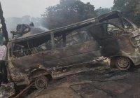 В Нигерии 18 человек погибли при столкновении двух автобусов