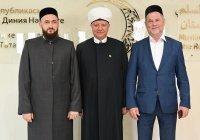 ДУМ РТ посетили муфтии Альбир хазрат Крганов и Тагир хазрат Саматов