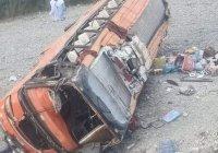 В Пакистане перевернулся автобус с паломниками, 19 жертв