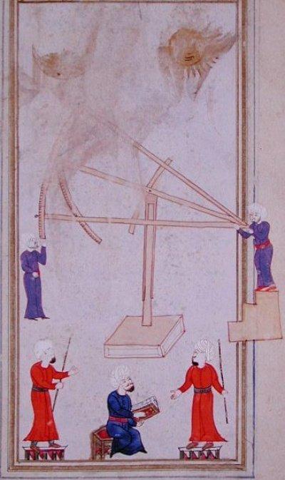 Османские астрономы и астрологи (Источник фото: wikipedia.org).
