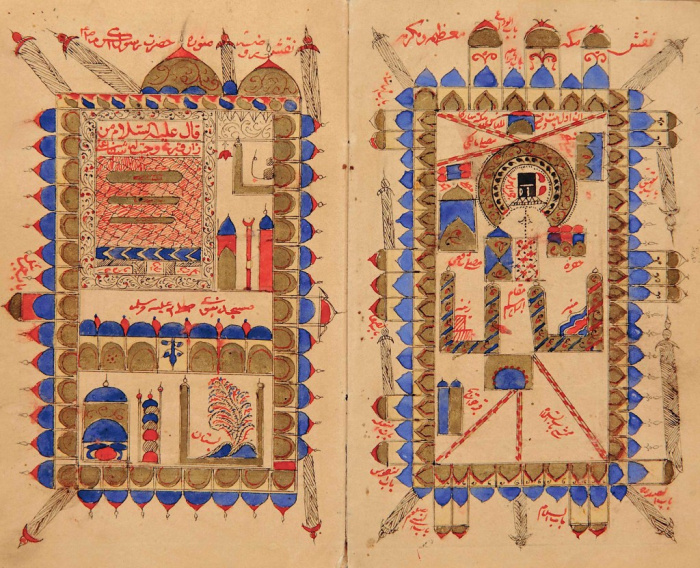 «Далаиль аль-хайрат»: как выглядела Мекка времён Пророка ﷺ (ФОТО)