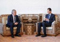Башар Асад принял в Дамаске спецпредставителя президента РФ