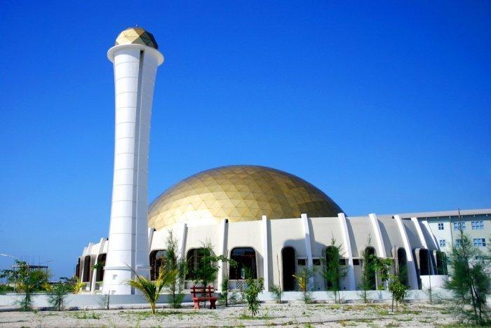 Мечеть в Хулхумале. Источник фото: Википедия.