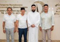 Муфтий РТ встретился с президентом Ассоциации рестораторов и отельеров РТ