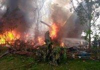 Не менее 50 человек погибли при крушении самолета на Филиппинах (Видео)