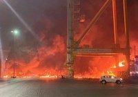 В Дубае прогремел мощный взрыв (Видео)