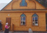 Придорожная мечеть открылась на трассе М-5