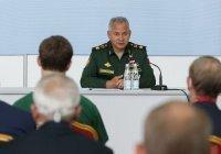 Шойгу оценил влияние операции в Сирии на развитие вооружения