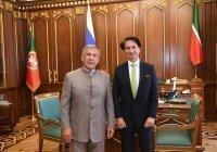 Минниханов встретился с послом Афганистана в России