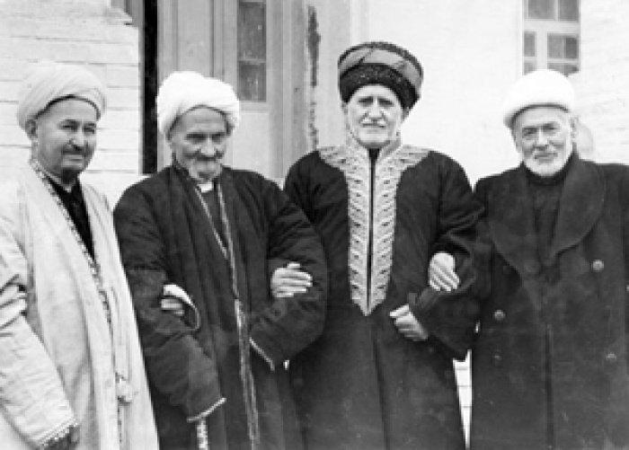 Духовные лидеры мусульман СССР. Источник фото islamrf.ru.