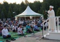В мухтасибатах и мечетях Татарстана гает прошел под открытым небом