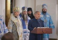 Минниханов: Казань вновь обрела одну из своих главных духовных святынь