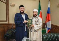 Муфтий РТ провёл встречу с шейхом Сейфом ибн Али аль-Асри