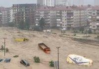 В Турции – масштабные наводнения (Видео)
