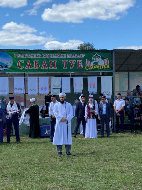 В Балтасях прошел всероссийский мусульманский детский сабантуй