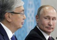 Путин и Токаев обсудили ситуацию в Афганистане
