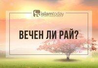 Что говорят аяты и хадисы о вечности Рая?