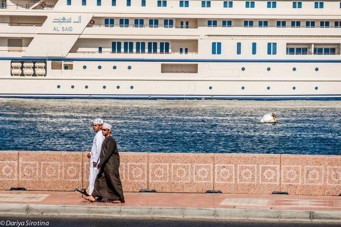 Маскат, как и все портовые города, – это место, определяемое его водными связями (Фото: Дарья Сиротина, livejournal.com).