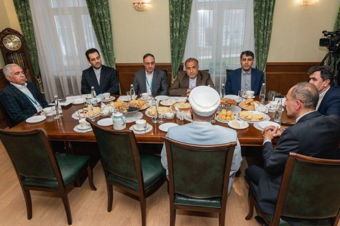 Муфтий Татарстана встретился с послом Ирана в РФ