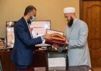 Муфтий встретился с генсеком Исламской торгово-промышленной палаты